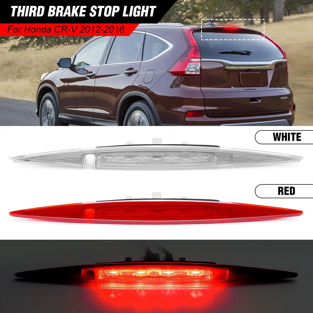 White /Red Shell High Mount 3rd Tail Light Car Rear Third Brake Light Stop Lamp For Honda CRV For CR V 2012 2013 2014 2015 2016