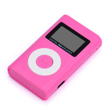 USB Mini MP3 Player Supports USB 2.0/1.1 Metal Case LCD Screen Support 32GB Micro SD TF Card Easy To Clip-On To Anything(China)