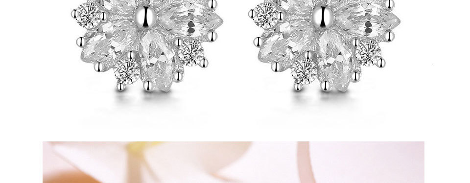 Hd9111b1db5544996b42f696162936b7ak - WEGARASTI Silver 925 Jewelry Earrings Woman Pink Cherry Earring 925 Sterling Silver Earrings Wedding Earring