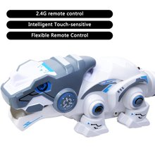 2019 777-619 Remote Control Mechanical Dinosaur 2.4G Four-Way Electric Pet Lighting ChildrenS Educational Toy