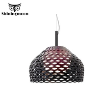 Danish Design Honeycomb Resin Pendant Lights Post Modern Bedroom Living Room Pendant Lamp Nordic Dining Room Hanglamp Luminaria