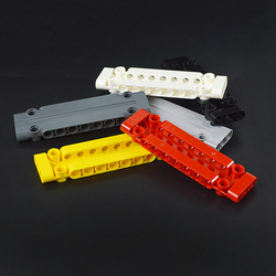 Technic Parts 64782 15458 Flat Panel Plate 1x5x11 1X3X11 Mechanical Building Blocks Car MOC Parts Brick Toy Compatible with lego
