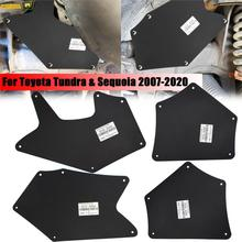 Mud Flaps Fender Liners For Toyota Tundra Sequoia 07 20 Splash Guards Mudflap Mudguards Shield Apron Seal 53737 0C030 537360C030