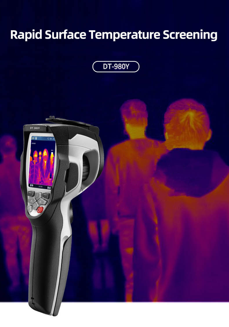 Infrared Thermal Camera With Live Streaming to Computer or TV Bluetooth For Human Body 1