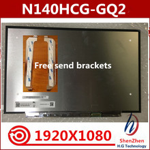 Led-Screen-Panel N140HCG-GQ2 Matrix Replacement Laptop Edp 14''-Display FHD New LCD 30pin