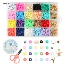 J78E Beads for Children DIY Earring Necklace Bracelet Multi-Function Pendant Included