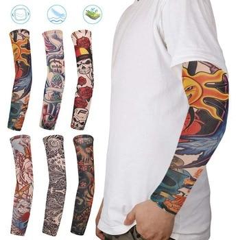 1 шт. 10 видов стилей Поддельные Временные с длинными рукавами и принтом «Татуировка» муфта для рук в стиле унисекс, защита от ультрафиолетовых лучей на открытом воздухе временные фальшивые татуировки рукава для защиты рук теплее|Грелки для рук|   | АлиЭкспресс