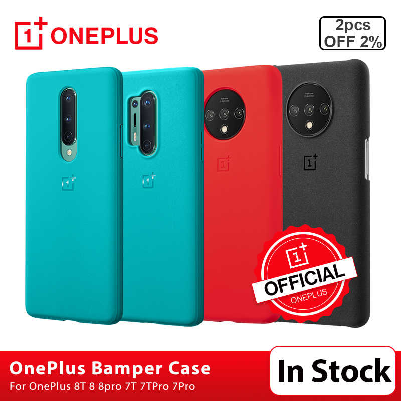 Official Case For Oneplus 8 7 8t Pro Sandstone Silicone Carbon Fiber Official Back Cover Fitted Cases Aliexpress