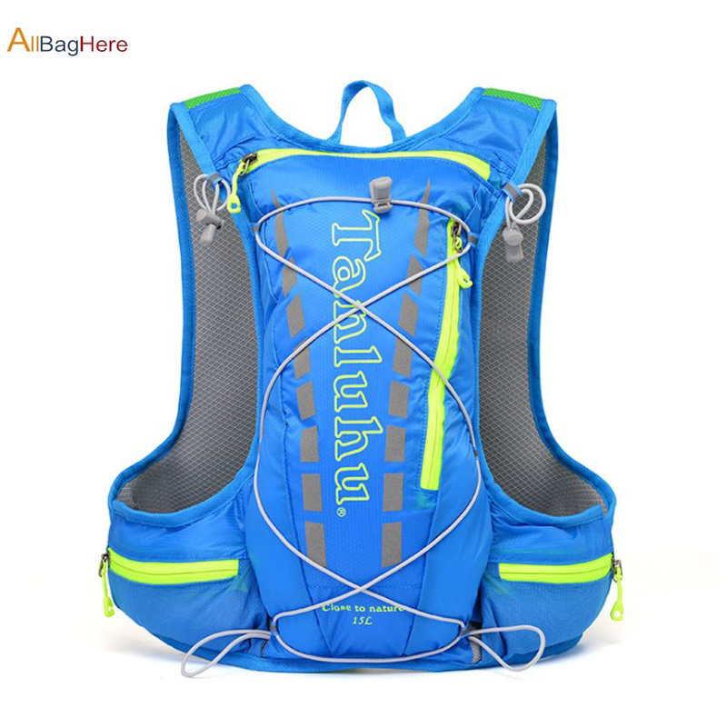Outdoor 10L Cycling Running Backpack Jogging Marathon Track Field Lightweight Hydration Bags Camp Climbing Hiking Water Bag Vest
