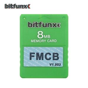Image 5 - Карта памяти Bitfunx для видеоигр V1.953, 8 Мб/16 Мб/32 Мб/64 МБ, бесплатный McBoot FMCB для Playstation2 PS2, красочный