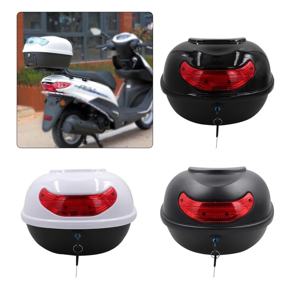 Tail-Box Trunk Motorcycle Rear Tour 1PC 3-Colors Vehicle Elastic Electric