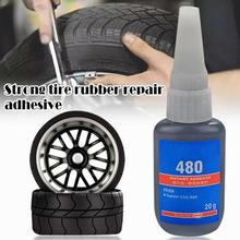 Patch Rubber-Solution Repair-Glue Mighty Tire Bike-Puncture Sealant Car X5I7 20ml