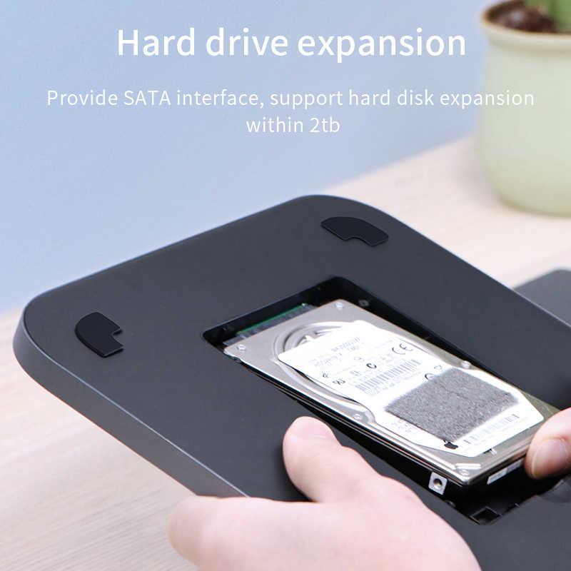 Hagiibis USB-C Hub z obudową dysku twardego SATA USB 3.0 hub dla Mac mini MacBook Pro type-c SSD HDD Case czytnik kart SD/TF