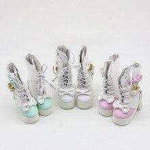 1 Pair 7.8cm Fashion Princess Shoes For 60cm 1/3 BJD Doll Ac