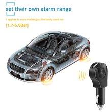 Беспроводная система контроля давления в шинах Plug & Play с подключаемым автомобильным зарядным устройством, 4 внешних датчика, без ЖК-экрана