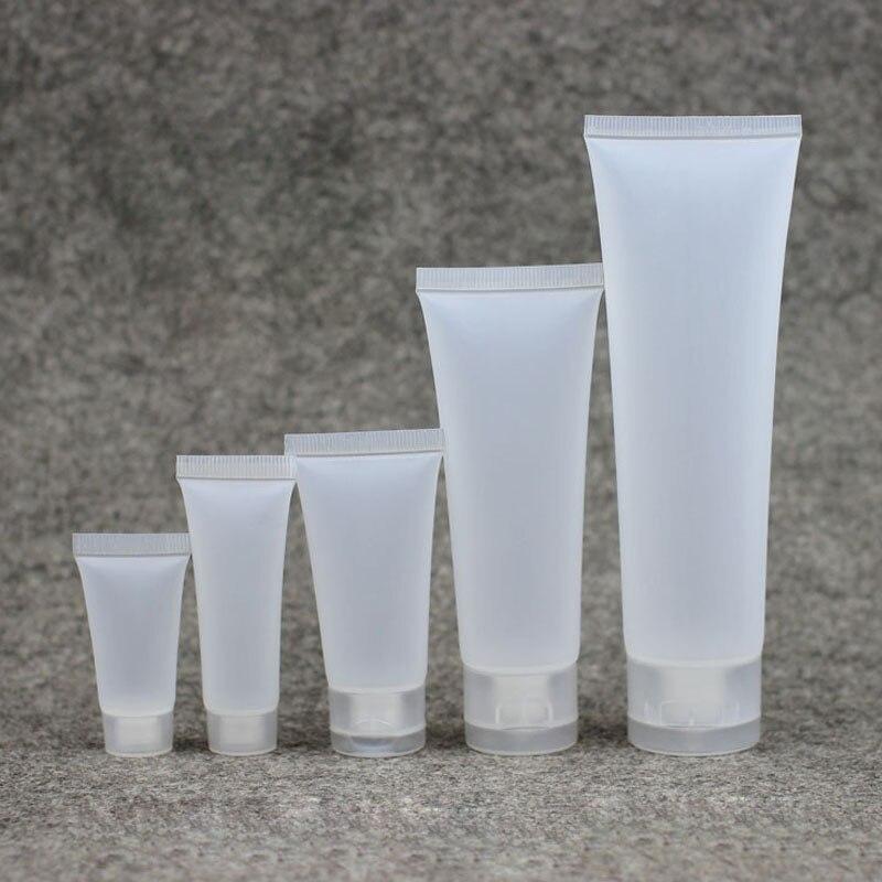 30 stücke 20/30/50/100 ml Reise Matt Leere Kosmetische Rohr Squeeze Gesichtsreiniger Container Creme Flasche Lotion Probe Gel Fläschchen