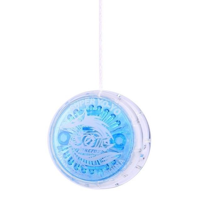 1Pcs Random Colour New LED Flashing YoYo Ball Clutch Mechanism Classic Yo-Yo Toys Creative Fashion Children Toys