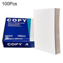 100Pcs Многофункциональный Ремесла Искусство Принтер A4 Копирование Бумага Офис Школа Принадлежности
