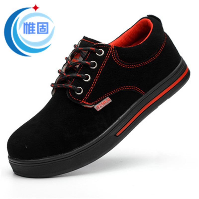 Factory Direct Smashing Safety Shoes New Style Men's Safety Shoes Currently Available Wholesale Black Safe Protective Shoes