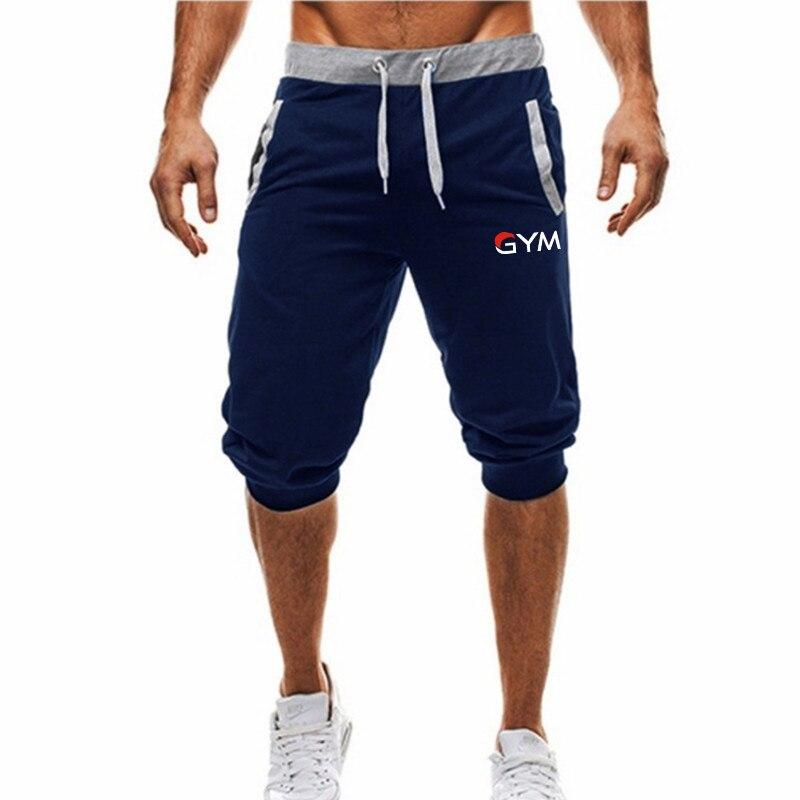 2019 Hot-Selling Summer New Man's Shorts Casual Shorts Fashion Dragon Ball Goku Print Sweatpants Fitness Short Jogger M-3XL