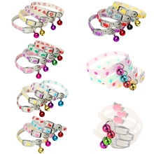 Necklace Cats-Light Pet-Glowing-Collars Bells-Glow New No with Night-Dogs Luminous