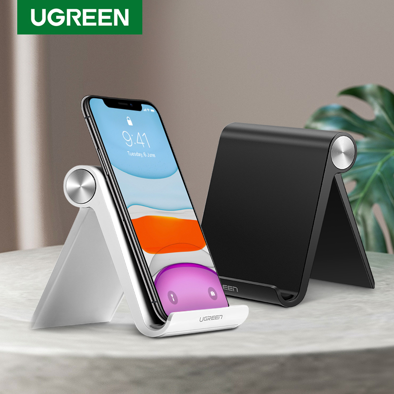Ugreen Phone Holder Stand Mobile Smartphone Support Tablet Stand for iPhone Desk Cell Phone Holder Stand Portable Mobile Holder(China)