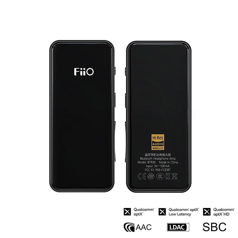 Fiio btr3k dupla ak4377a equilibrado bluetooth 5.0 amp usb dac suporte ldac/aptx hd lossless codecs alta fidelidade 2.5/3.5mm amplificador de alta fidelidade