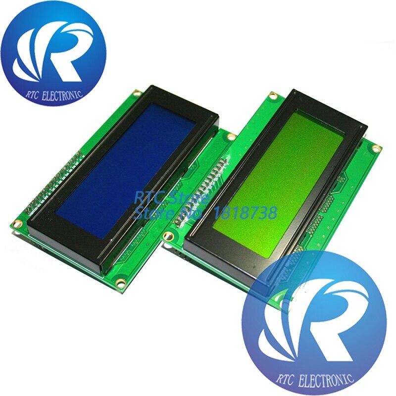 1PCS LCD2004+I2C 2004 20x4 2004A Green Screen HD44780 Character LCD /w IIC/I2C Serial Interface Adapter Module