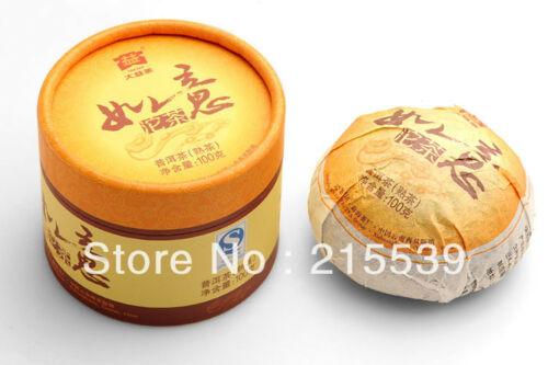 [GRANDNESS] RUYI * 2012 Premium Tuocha MengHai Dayi TAETEA Ripe Pu Erh Tea 100g