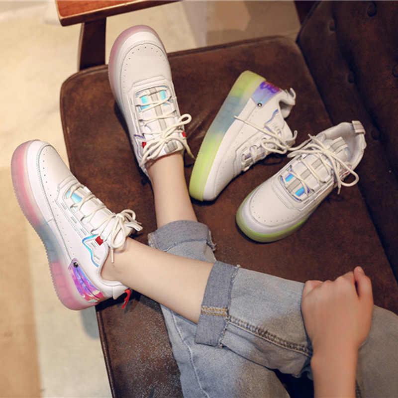 Unissex Sapatos de Skate Dos Homens Das Mulheres de Luxo Sapatilhas Respirável Sapatos Macios Calçados Trainer Plataforma Branco Sapatos de Caminhada