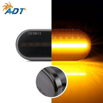 ADT LED Sequential Dynamic Flowing Running light Turn signal Side Marker For Golf4