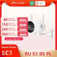 IMILAB-cámara Ip EC3 para exteriores, cámara de seguridad Mi para el hogar con Wifi, 2K, visión nocturna, videovigilancia