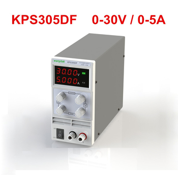 цена на KPS305DF 0-30V/0-5A 110V-230V 0.1V/0.001A EU LED Digital Adjustable Switch DC Power Supply mA display Convertible