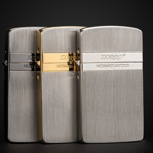 Купить zorro кремневая бензиновая керосиновая серебряная зажигалка картинки цена