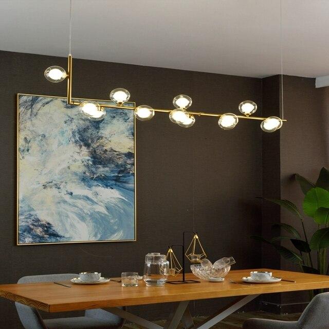 Фото современные минималистичные подвесные светильники в скандинавском