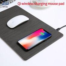 Chtun Qi kablosuz şarj mouse pad hızlı şarj kablosuz şarj kablosuz şarj mouse pad