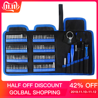 Kaisi 126 in 1 Screwdriver Set Magnetic Screwdriver Bit Torx Multi Precision Screwdriver for Phone Electronic Device Hand Tool