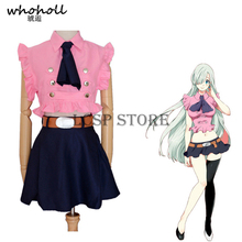 цена на The Seven Deadly Sins Elizabeth Liones Cosplay Costume Japanese Anime Nanatsu No Taizai Uniform Suit Outfit Clothes