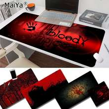 Maiya My Favorite Bloody DIY Design Pattern Game mousepad Free Shipping Large Mouse Pad Keyboards Mat
