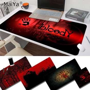 цена на Maiya My Favorite Bloody DIY Design Pattern Game mousepad Free Shipping Large Mouse Pad Keyboards Mat