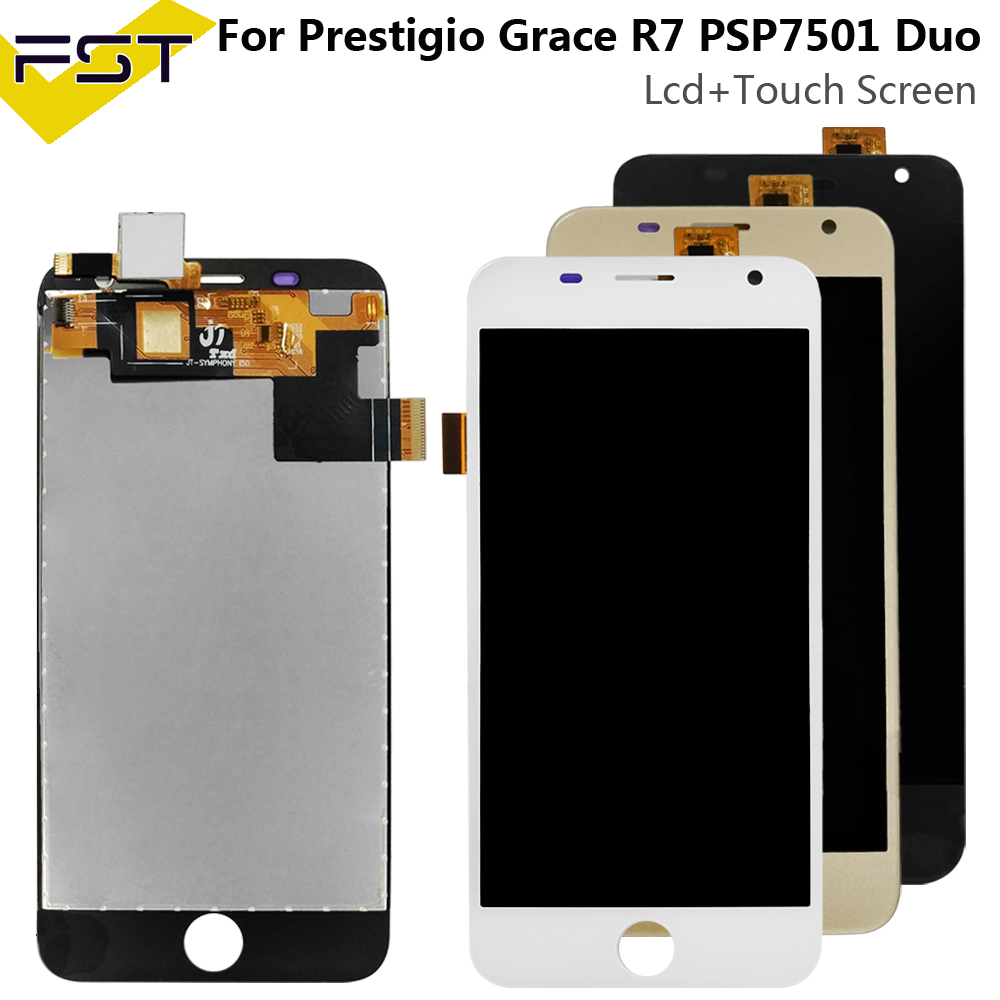 For Prestigio Grace R7 PSP7501DUO LCD Display Touch Screen Digitizer Assembly For Prestigio PSP 7501 Duo Lcd For PSP7501 Lcd