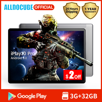 Alldocube Facotry iPlay10 Pro Tablet 10.1 Inch IPS Screen MT8163 Quad Core 3GB RAM 32GB ROM Android 9.0 Wifi BT4.0