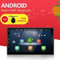 2din Android Universal Touch Car PC Tablet double din Audio 7'' GPS Navi Car Stereo Radio USB No DVD Navigation Video Capacitive