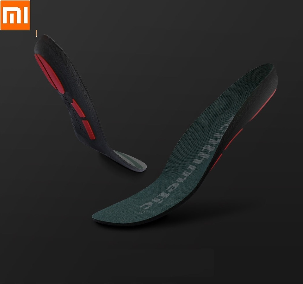 Xiaomi New Cushioning Running Insole Man Woman Sports Sweat Non-slip Damping Running Insole Dynamic Rebound Support Protection