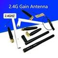 3dBi 2 4 ghz WIFI антенна SMA мужской маршрутизатор Bluetooth антенны беспроводной модуль 2 4g антенны внешняя антенна RP-SMA-J Весна