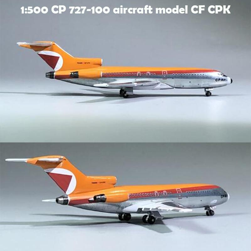 Rare  1:500  CP 727-100 Aircraft Model CF CPK  Alloy Collection Model