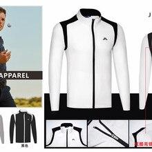 K Мужская спортивная куртка для гольфа 3 цвета одежда для гольфа s-xxl выбрать одежду для гольфа для отдыха