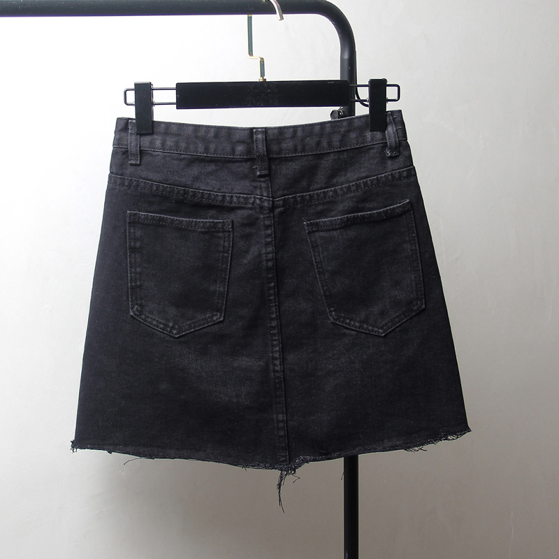 Large Size Dress Fashion Denim Skirt 2019 New Style Fat Mm 200 Loose-Fit Slimming Skirt