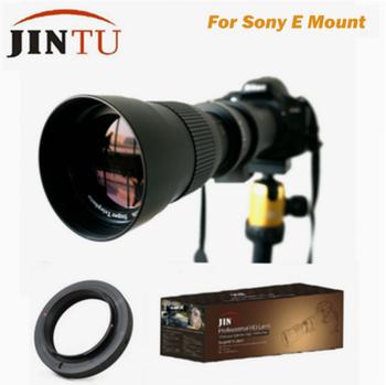 JINTU-lente de superteleobjetivo de 420-800mm, compatible con Sony a-mount Alpha A100 A200...
