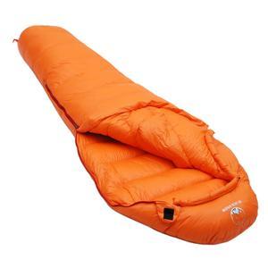 Image 4 - חורף האולטרה תרמית למבוגרים אמא 95% לבן אווז למטה שק שינה שק W/דחיסת חבילה עבור תרמילאים קמפינג טיולים